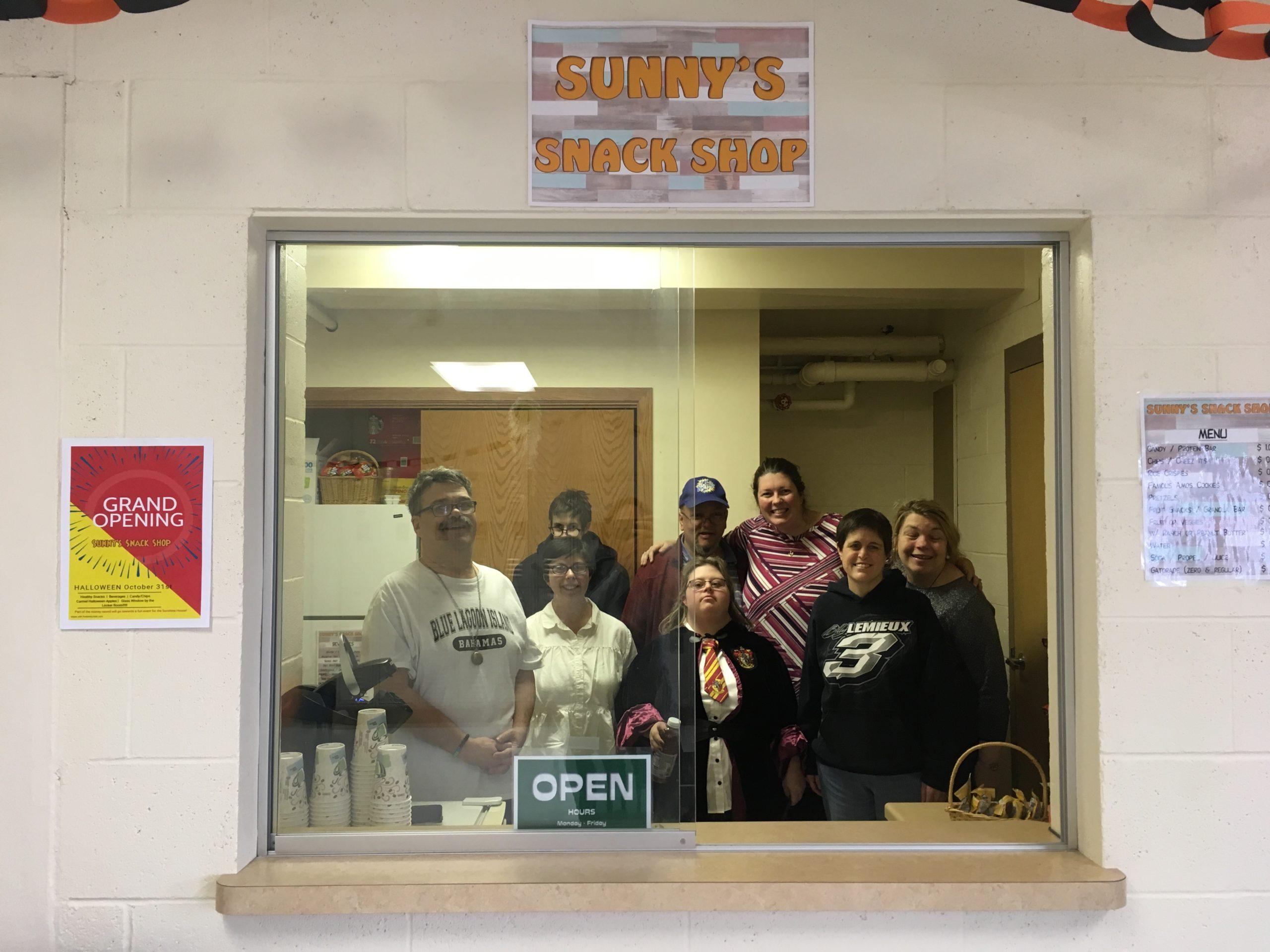 Sponsor Sunny's Snack Shop Room